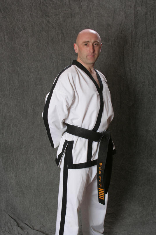 Andy Jackson 7th Degree Taekwondo Black Belt